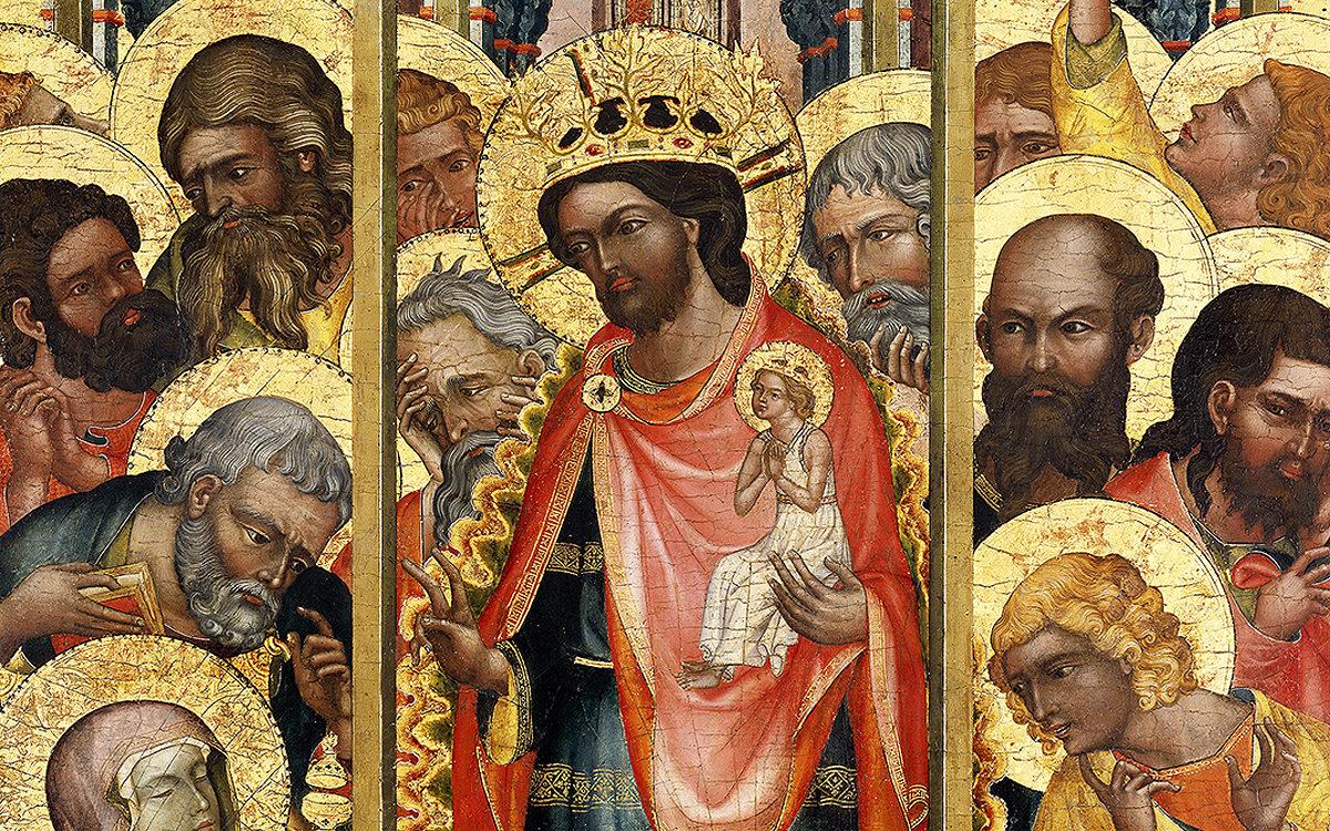 Smrt Panny Marie z Košátek, 1340-45