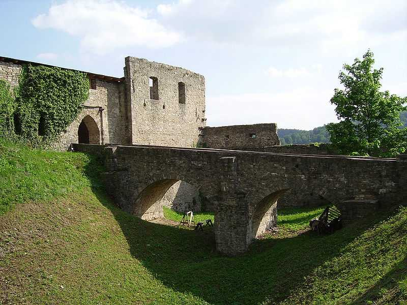 Hrad Hukvaldy v Moravskoslezském kraji