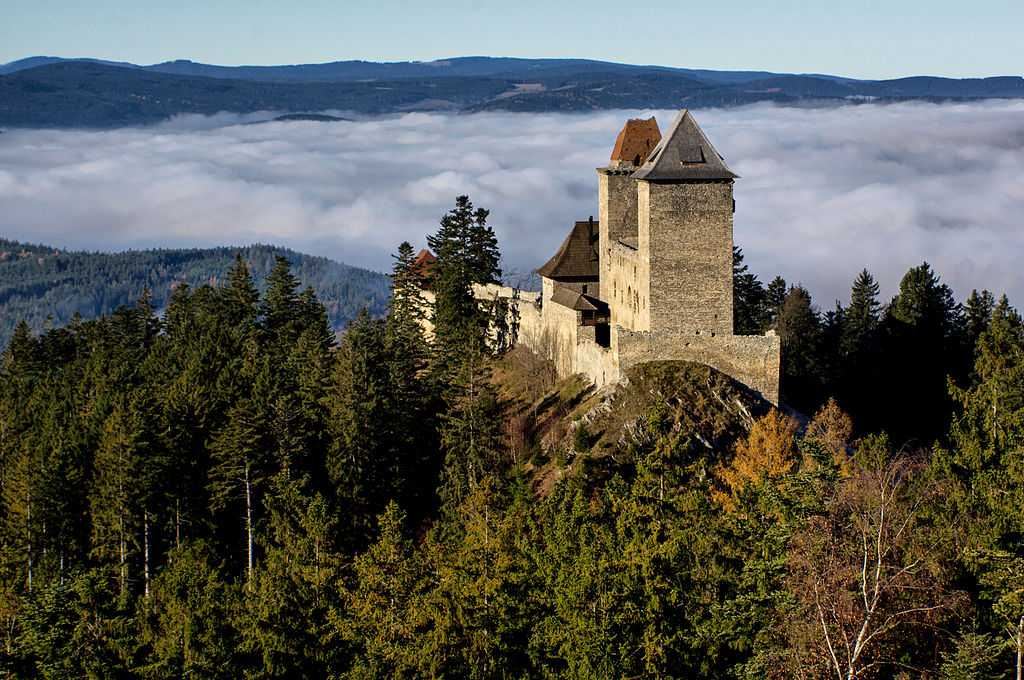 Hrad Kašperk v Plzeňském kraji