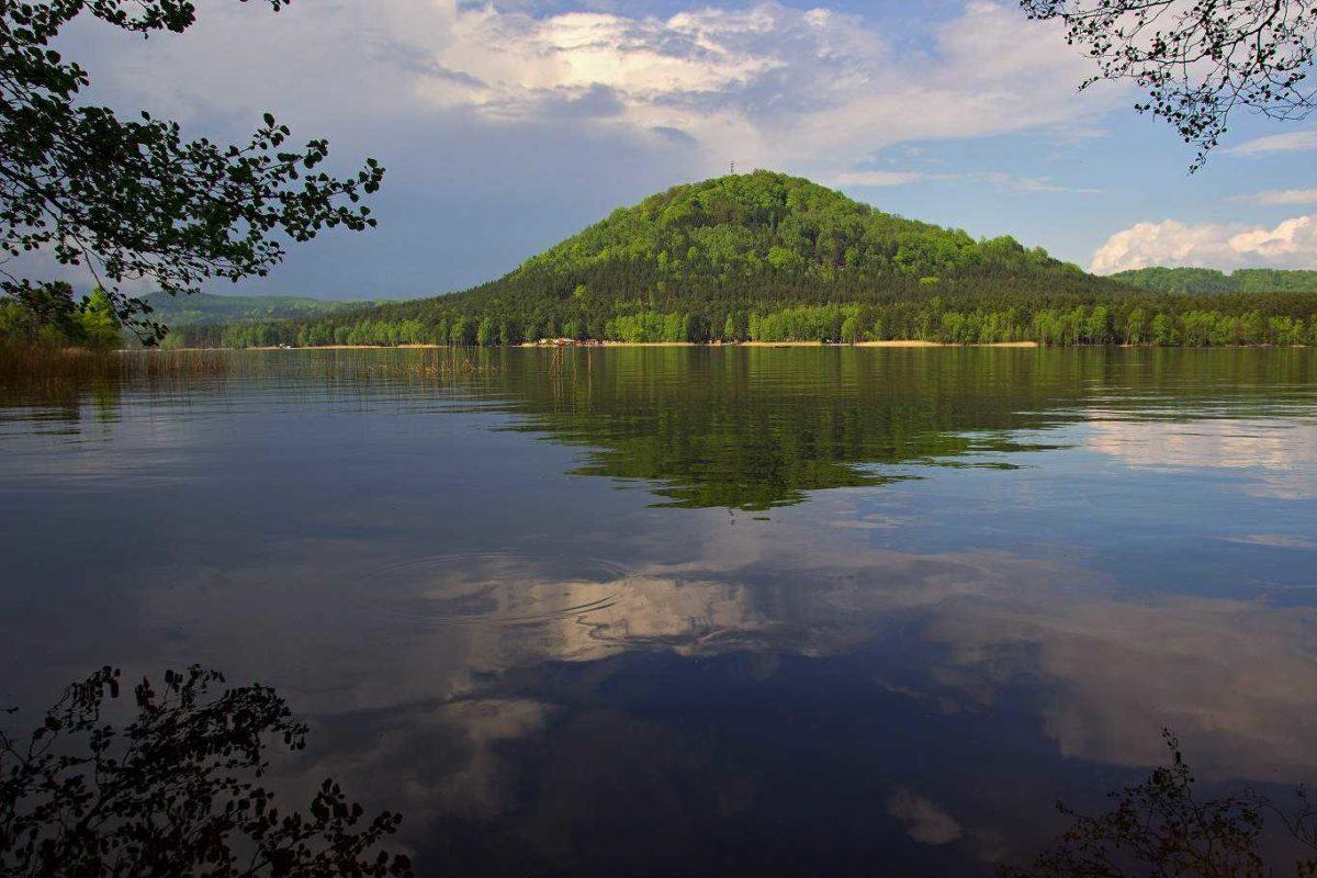 Máchovo jezero v Libereckém kraji
